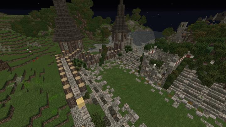 Popular Server Project : (Hollowworld Server) (Download) Amalfia ruins (read Description!!)
