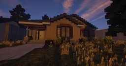 Small House - Carlton | Blueprint Minecraft Map & Project