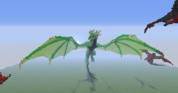 The Green Dragon Minecraft Map & Project