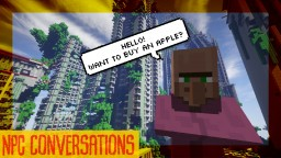 Custom NPC conversations for Minecraft 1.12 | Skyball Minecraft Map & Project