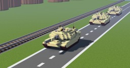 M1 ABRAMS Minecraft Map & Project