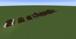 British tank collection Minecraft Map & Project