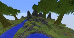 jungle typed terraforming Minecraft Map & Project