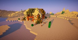 The Temple of Desert Minecraft Map & Project