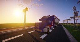 Truck with house Minecraft Map & Project