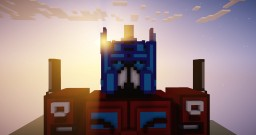 Optimus Prime Transformed Minecraft Map & Project