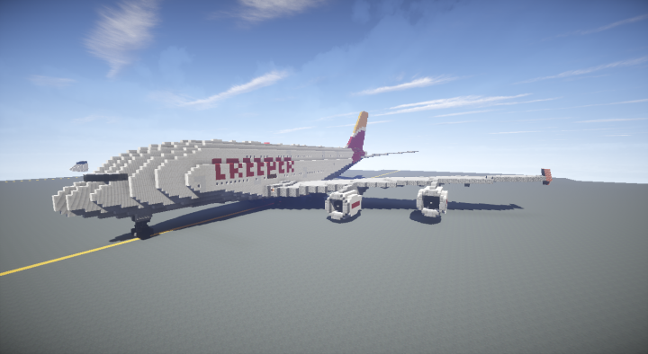 Popular Server Project : Luxurious private Airbus A380 plane + interior
