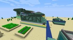 Minecraft 1.13 snapshot HUGE SWIMMING STADIUM Minecraft Map & Project