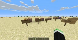 Basic commands Minecraft Map & Project