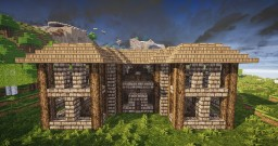 Misty Mountain Lodge Minecraft Map & Project