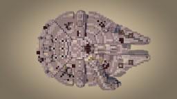 "YT-1300 492727ZED - ""Millennium Falcon"" Minecraft"