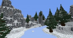snow mountain covered with snow Minecraft Map & Project