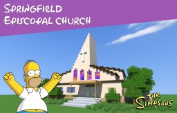 Springfield Episcopal Church Minecraft Map & Project