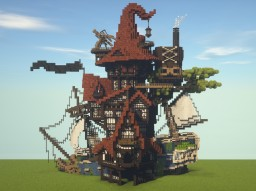 Fantasy house Minecraft