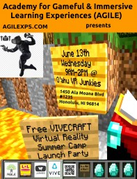 Online Minecraft Summer Camp & Beyond - Academy for Gameful & Immersive Learning Experiences Minecraft Map & Project