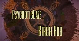 Large Birch Hub | 4 Portals | READ DESC Minecraft Map & Project