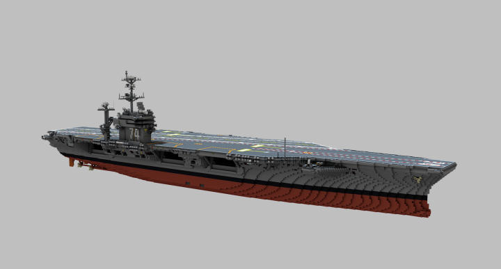 Popular Server Project : USS John C. Stennis (CVN-74)  1:1 scale