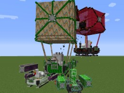 [1.12.2 / 1.11.2 / 1.10.X / 1.9.4] ViesCraft - Airships! 5.9.2 Minecraft Mod