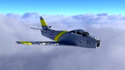 F-86F2-Sabre Minecraft Map & Project