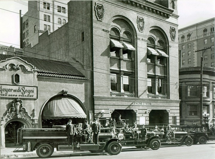 the build was based off station 28 in LA, California