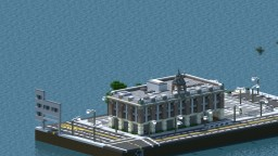 Greenfield project - 1900s Eaglepoint Firestation Minecraft Map & Project