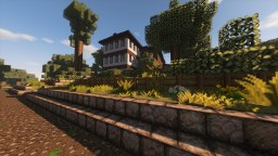 Hillside Home Minecraft Map & Project