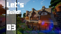 Minecraft - How to Build a Medieval House Minecraft Map & Project