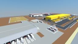 Industrial area Minecraft