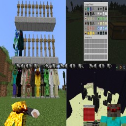 Minecraft Mob Armor Mod 1.0.3 for 1.12.2(Hallowen Costume Special!) Minecraft