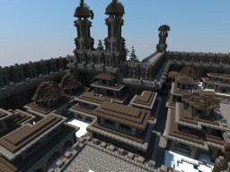 Roman Inspired Houses Minecraft Map & Project