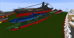 I-400 Class Submarine Minecraft Map & Project