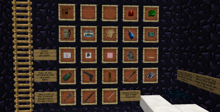 Popular Texture Pack : Guns & Grenades - Barlennan's take on a Crafting Dead resourcepack