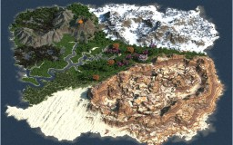 Colorful earths V2 Minecraft Map & Project