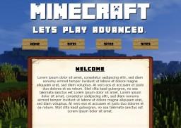 Free Minecraft Website Template Html5 Minecraft Blog Post