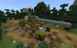 m4a1 sherman Minecraft Map & Project
