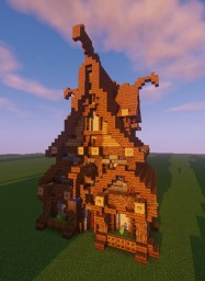 Medieval House style 1 Minecraft