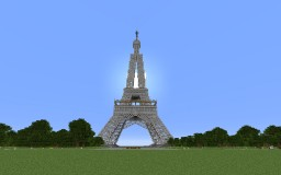 Minecraft Eiffel tower Minecraft Map & Project