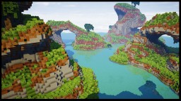 How to Build an Island in Minecraft with Voxel and Worldedit /  Minecraft Timelapse / WORLD DOWNLOAD Minecraft Map & Project