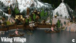 Viking Village Minecraft Map & Project