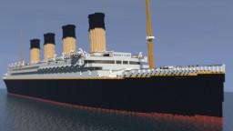 RMS Titanic (custom) Minecraft Map & Project
