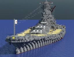 IJN Yamato (2018 remake) Minecraft Map & Project