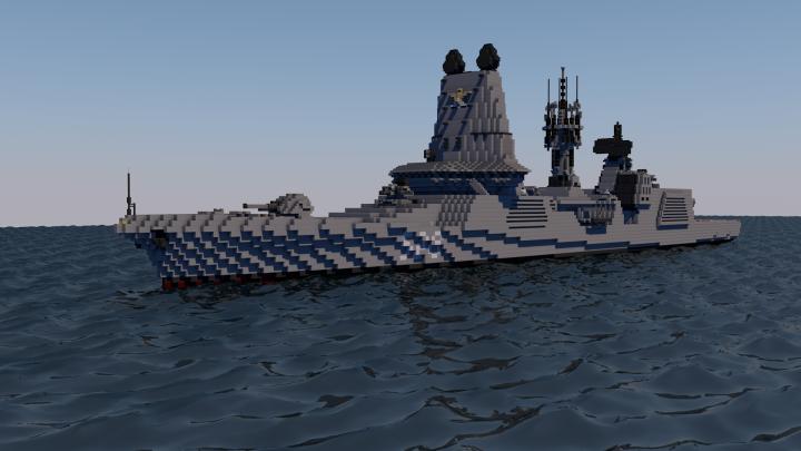 Popular Project : Destroyer ship class KazaDriko