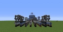 Team Fortress 2 MvM Carrier Tank Minecraft Map & Project