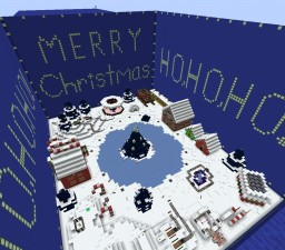 """Nightmare Before Christmas """"Christmas Town"""" Minecraft Map & Project"""