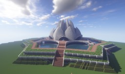 Lotus Temple Minecraft