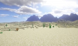 Desert Terrain Minecraft Map & Project