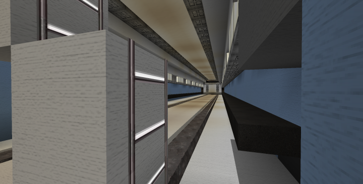 Inside the cargo bay