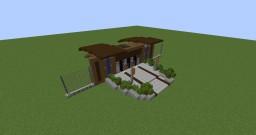 Gyrosphere Station (Jurassic World Evolution) Minecraft Map & Project