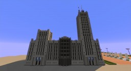 Police Headquarters ---2084--- Minecraft Map & Project