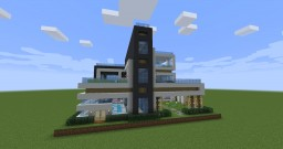 Modern House(1.13 Snapshot) /w Download Minecraft Map & Project